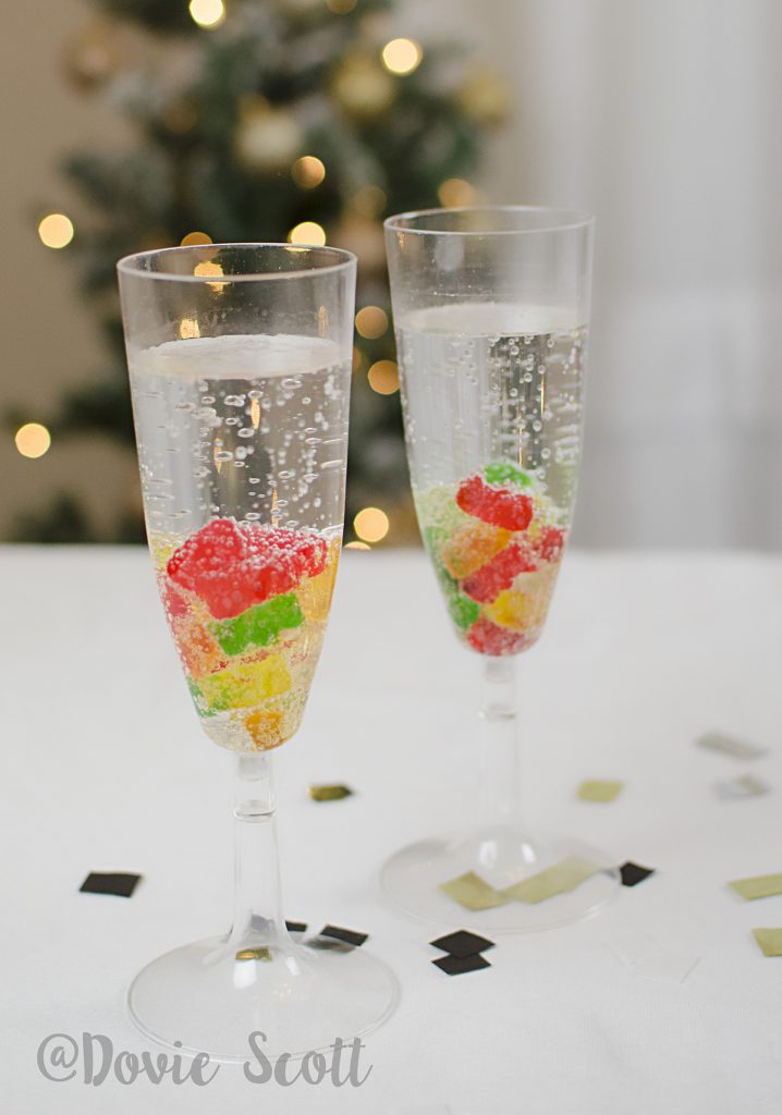 Kids Gummy Bear Champagne