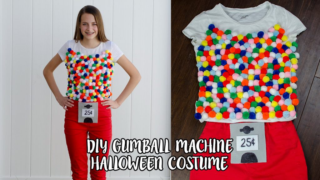 DIY Gumball Halloween Costume