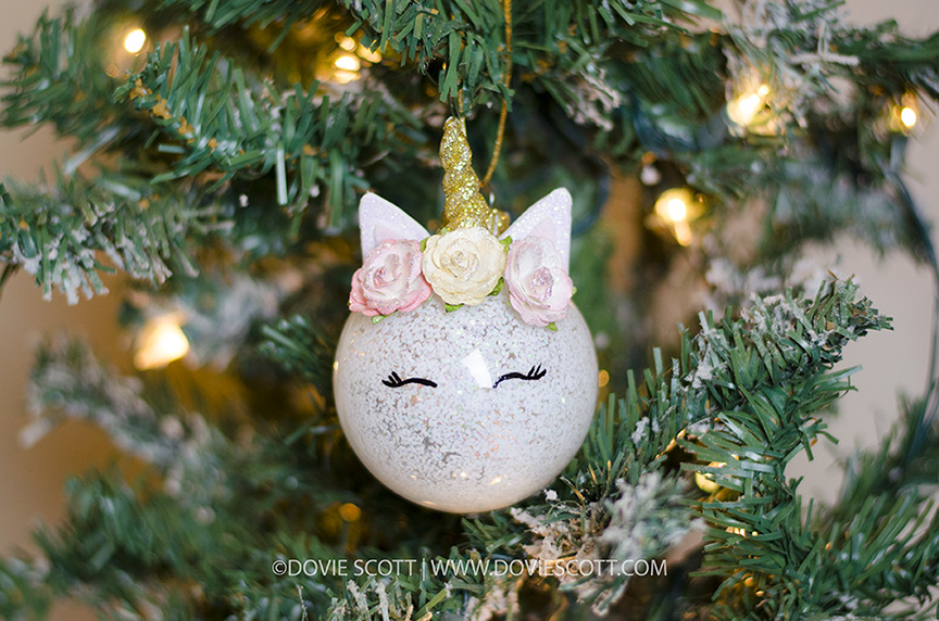 How to make unicorn ornament