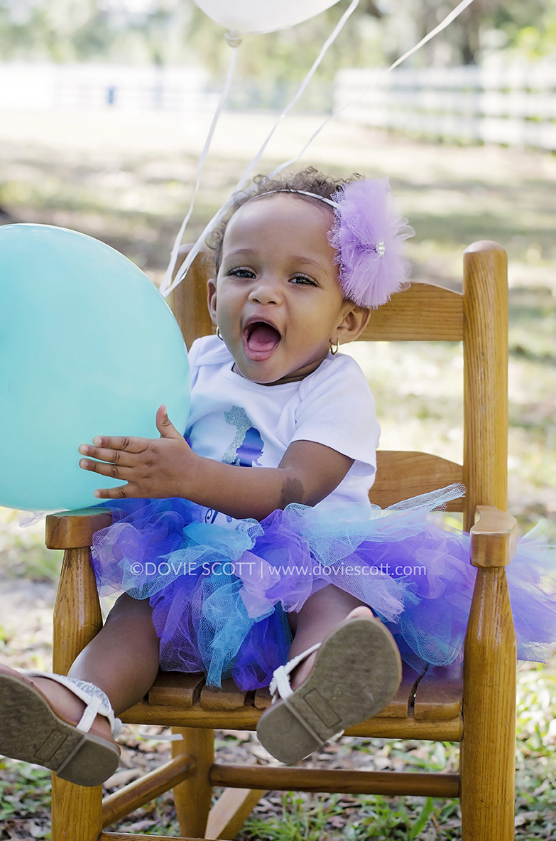 Nyla First Birthday Photo Session