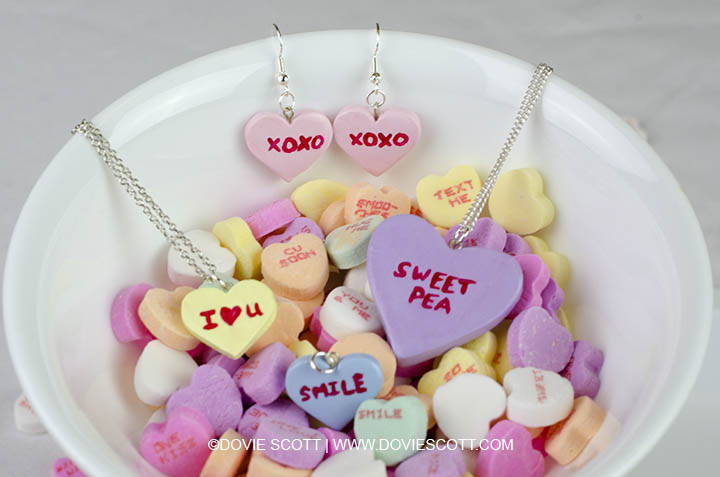 Conversation Heart Charms