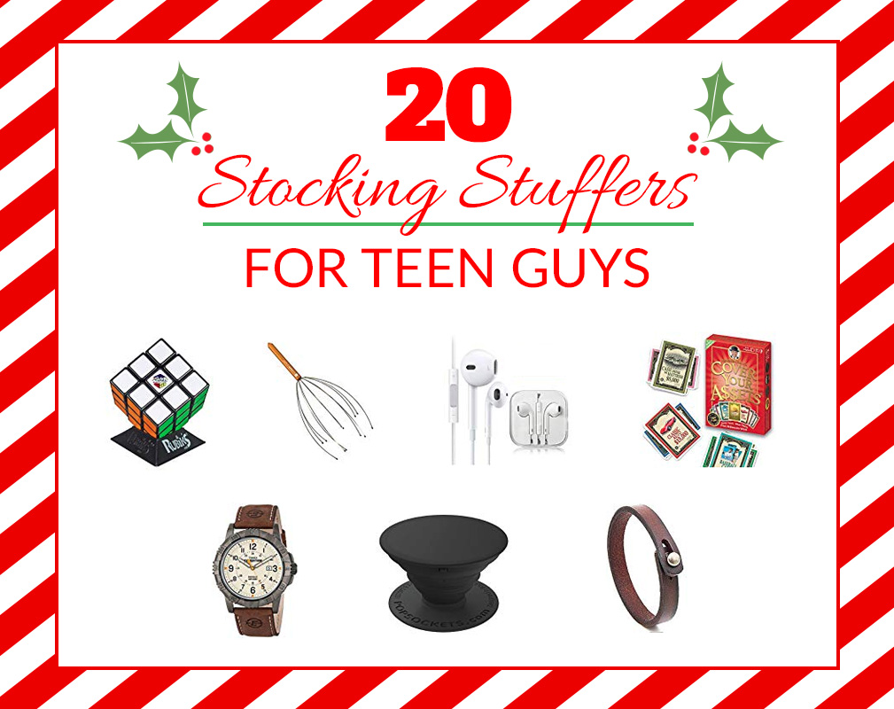 20 Teen Guy Stocking Stuffers
