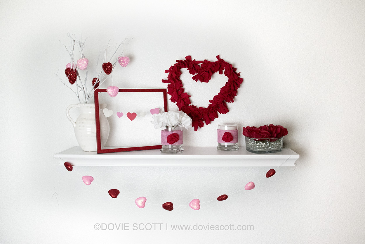 DIY Dollar Tree Valentines Decor