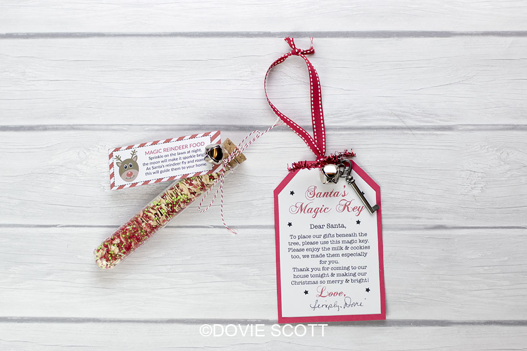 Santa's Magic Key and Magic Reindeer Food