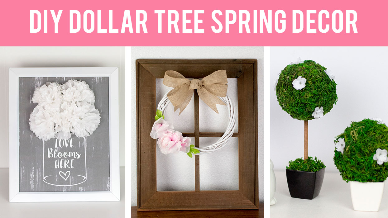 DIY Dollar Tree Spring Home Decor